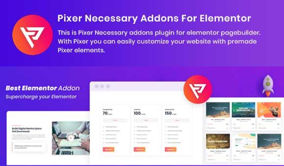 Pixer Necessary Addons For Elementor