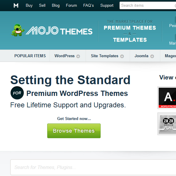 Mojo Themes Marketplace
