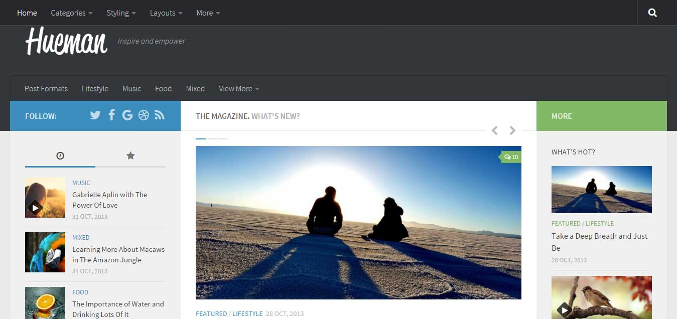 Hueman - Top Free WordPress Theme