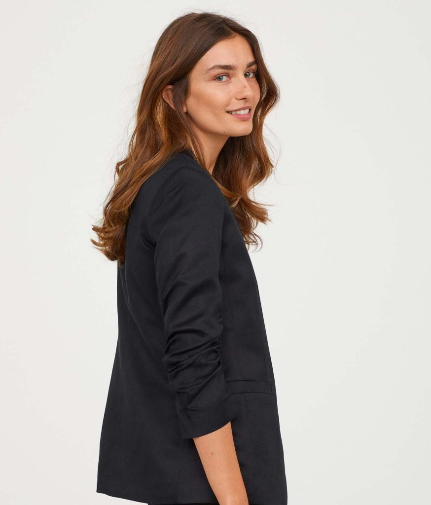 Double-breasted Jacket Side