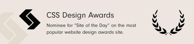 CSS Design Award