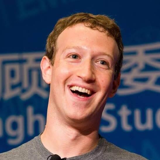 Марк Цукерберг, фото со страницы профиля