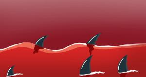 Красный океан. Иллюстрация Александры Амзиной
