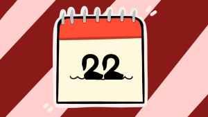 Двадцать второе число. Иллюстрация Александры Амзиной