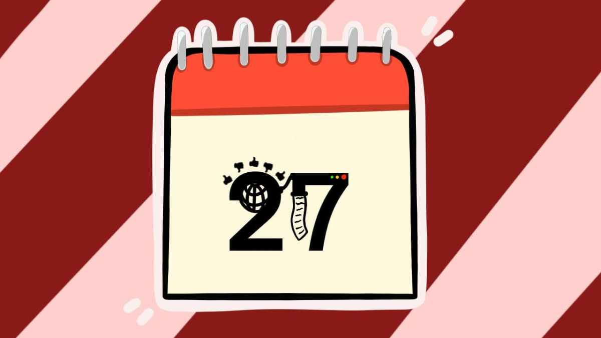 Двадцать седьмое число. Иллюстрация Александры Амзиной