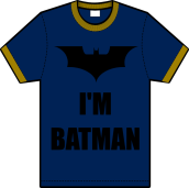 im batman t-shirt