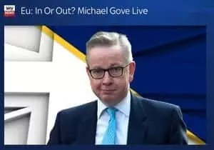 How to survive a TV debate, Michael Gove