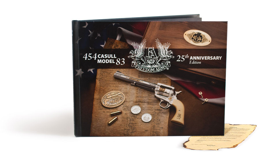 Freedom Arms 25th Anniversary Book 1