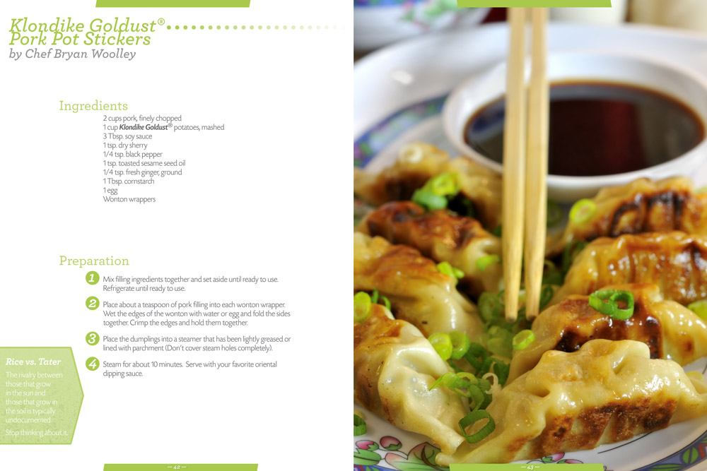 Klondike Potatoes Cookbook 5