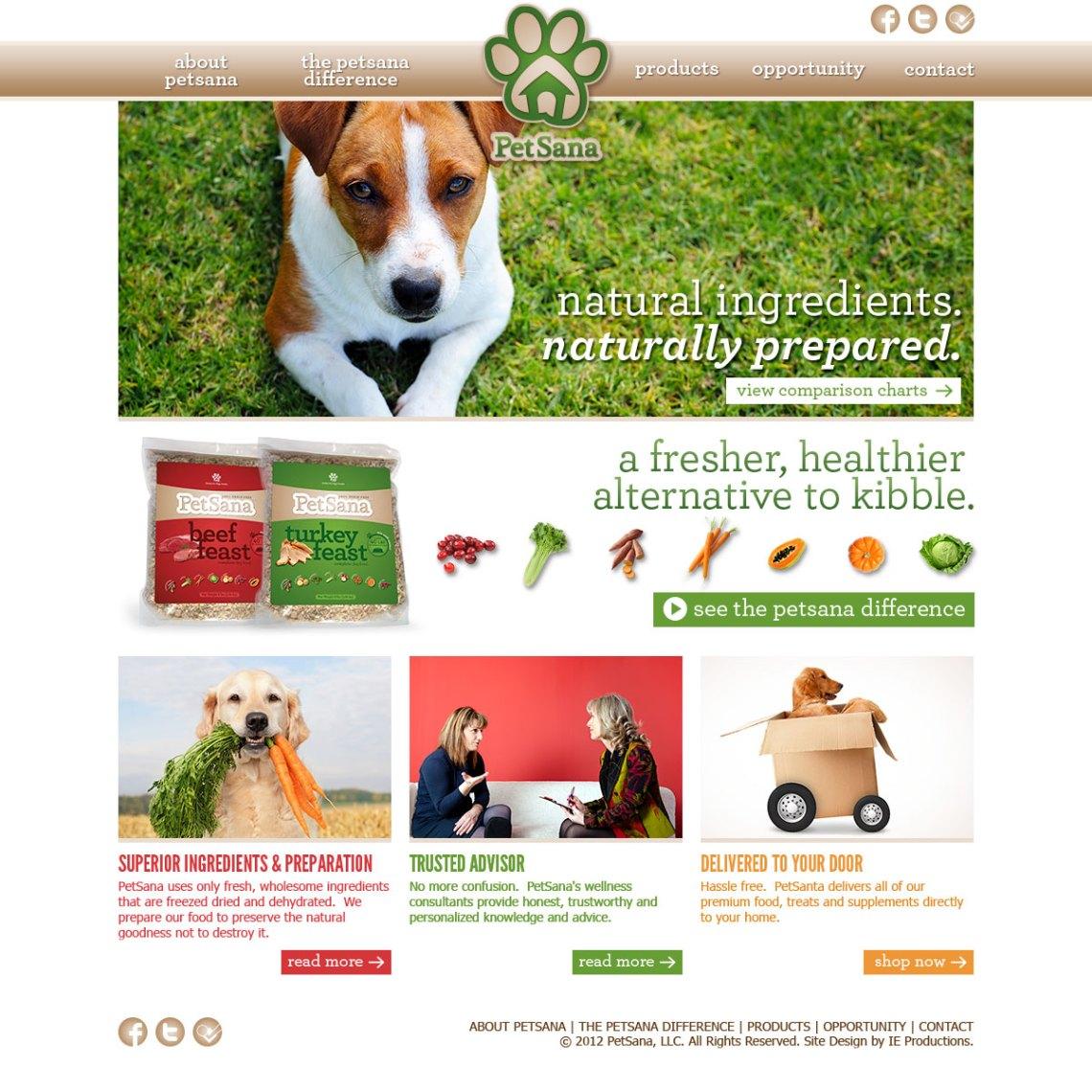 Petsana Website