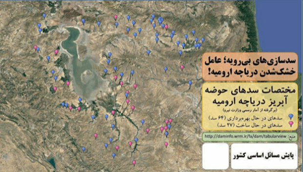 Statistics of constructed dams