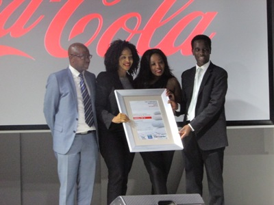 Coca-Cola and car manufacturers excel at TCRI Awards