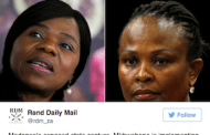 Public Protector shoot-out: Thuli vs. Busi