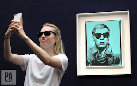 Andy Warhol's £6m selfie and how we can all now be famous for 15 minutes