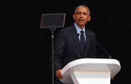 Obama pays tribute to Mandela, invites the world to find its better angels