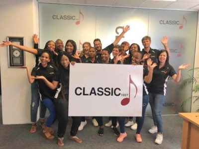 Classic 1027 re-brands and announces new presenters