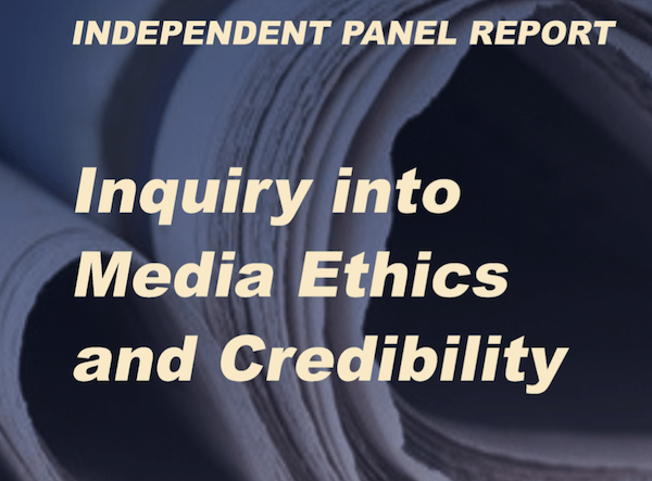 themediaonline.co.za - Ed Herbst - SANEF inquiry provides ethical journalism recommendations