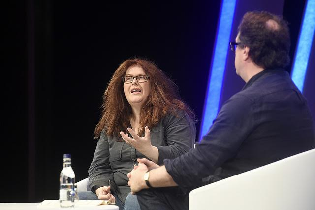 Sally Wainwright in conversation with Russell T Davies at the 2016 Edinburgh International Television Festival