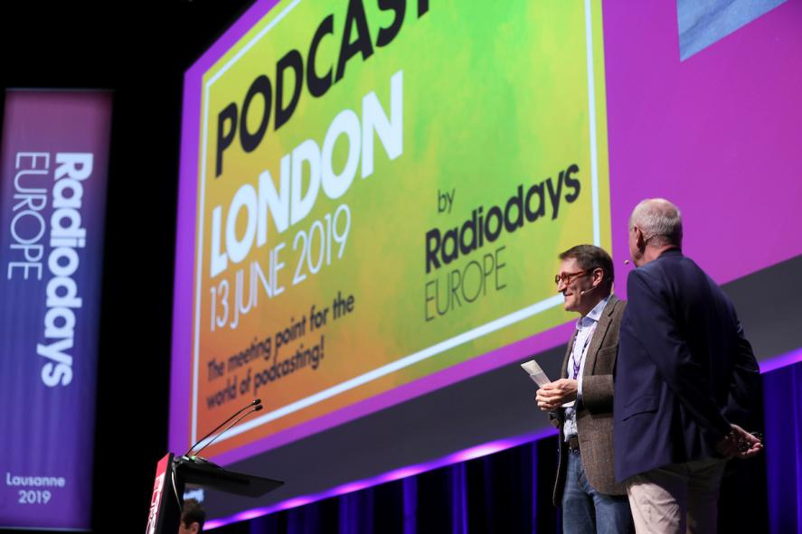 Win a ticket to Radiodays Europe: Podcast Day 2019 | The Media
