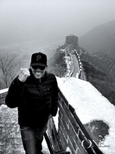 Beaux Foy at Great Wall of China