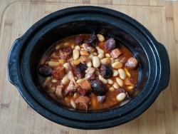 Fabada recipe in slow cooker