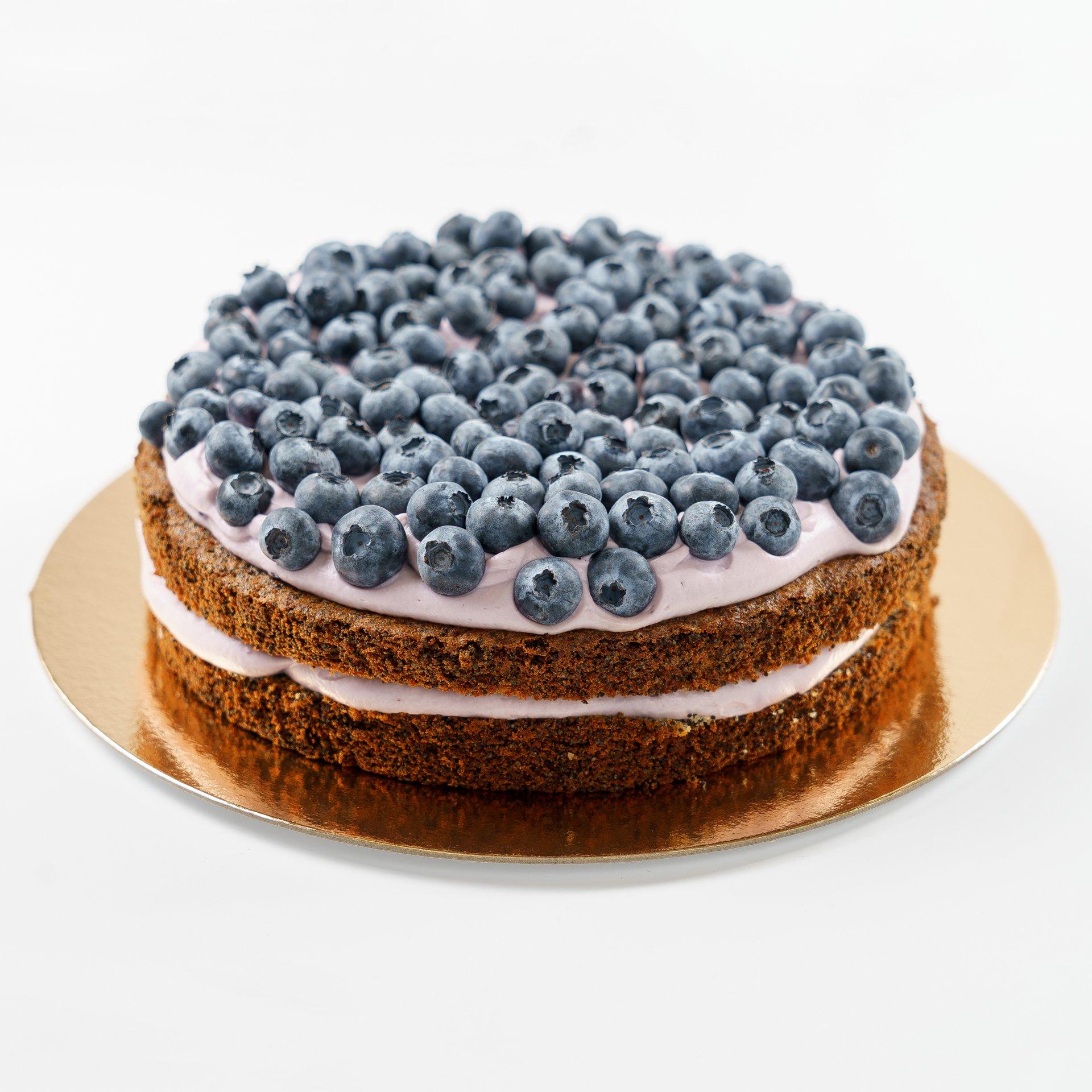 Торт «Маково-черничный» (1320г)