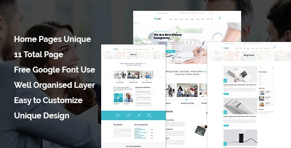 Bizcox - Business Consulting HTML5 Responsive Template