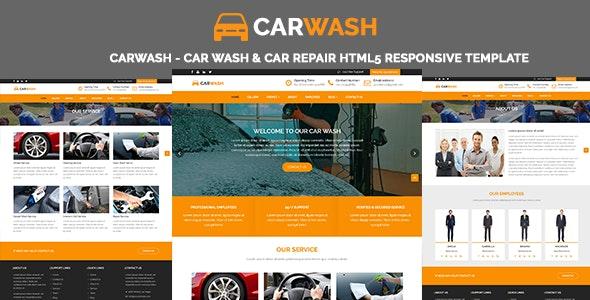 CarWash - Car Wash & Car Repair HTML5 Responsive Template