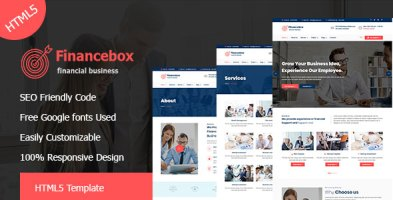 Financebox - Financial Business HTML5 Template