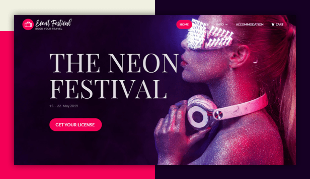 Event Festival WordPress Theme