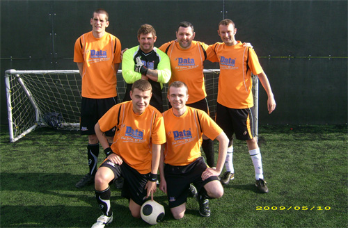 Datapower Tools five aside football team