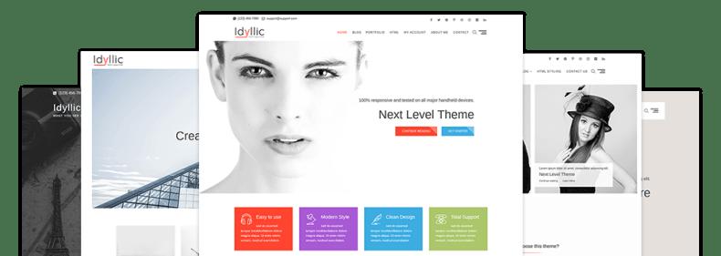 Idyllic Free Themes