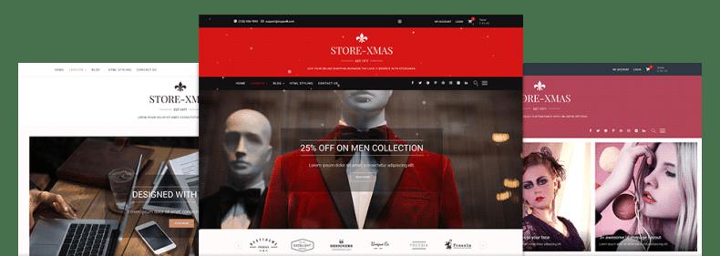 StoreXmas Free Themes