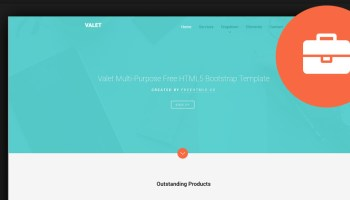 50 best business bootstrap templates 2017 60 free html5 business website templates 2017 flashek Images