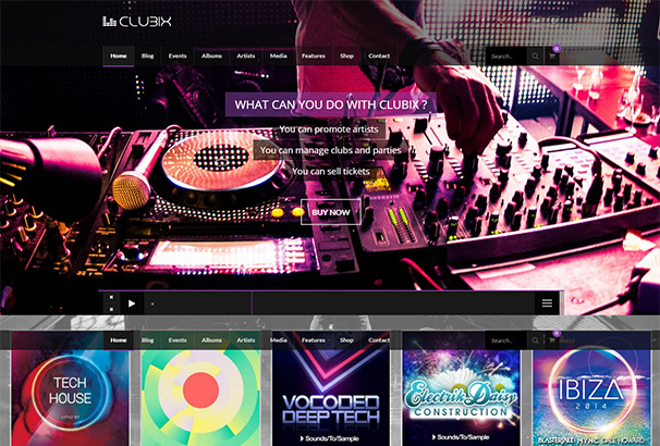 themeforest 23 Clubix