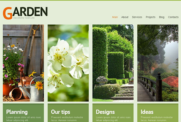 Best Wordpress Gardening And Landscaping Themes 2017