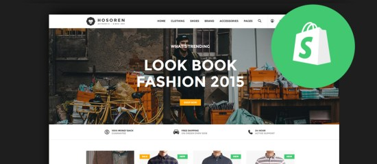 Best Clothing & Fashion Shopify Themes