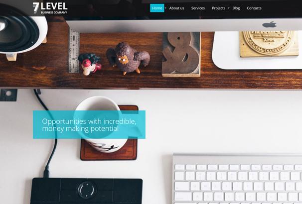 7-level-website-template