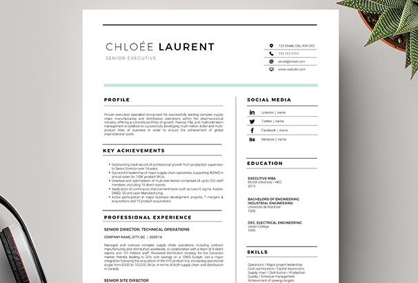 50 CV Resume Cover Letter Templates for Word PDF 2017 – Resume Cover Letter Template