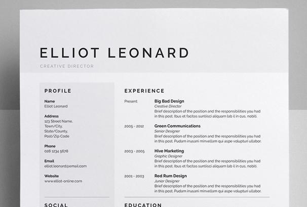 senior designer resumes