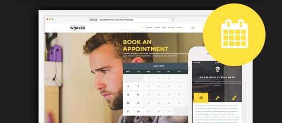 WordPress Business Themes With Appointment Booking Form