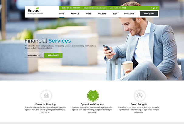 60+ Best Financial WordPress Themes 2017 Themes for Finance Companies