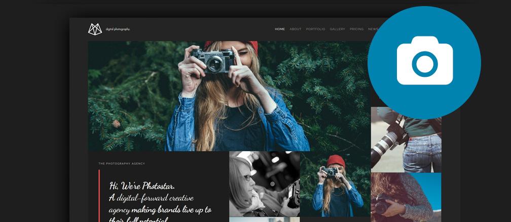 50 best joomla photography portfolio templates 2017