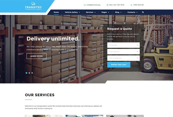 50 best html business website templates 2017