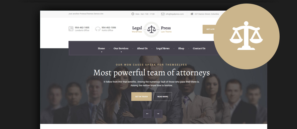60 best html lawyer law firm website templates 2017