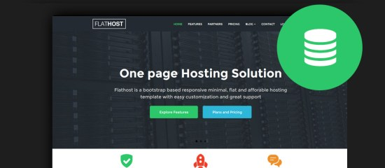 Web Hosting Website Templates