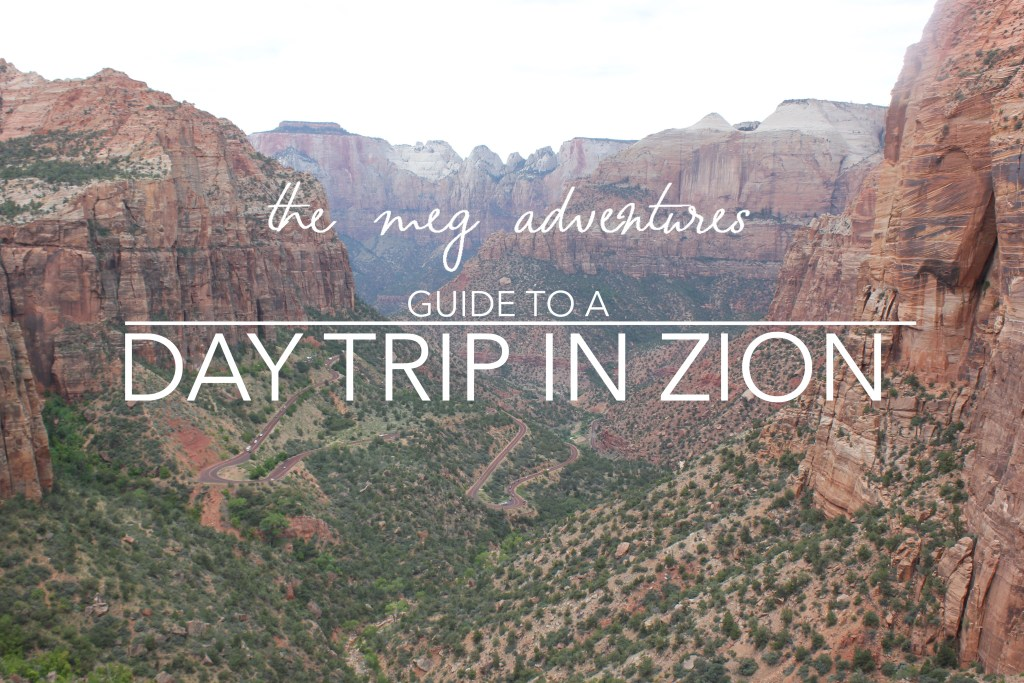 Day Trip to Zion National Park
