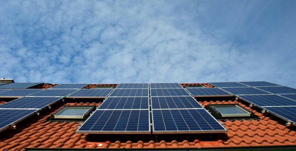solar-paneled roof