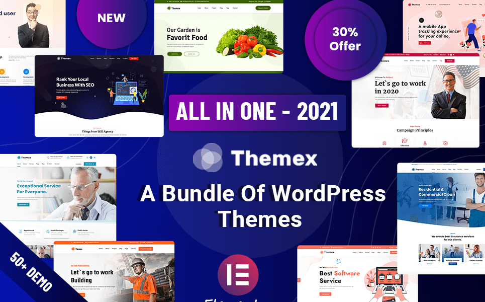 Read more about the article 10 Fastest WordPress Themes by TemplateMonster – Best Selling