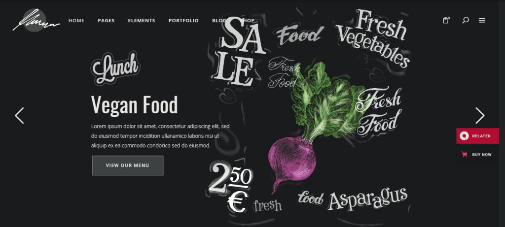Savory-Best-WordPress-restaurant-theme